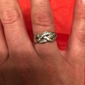 Silver ring.  Size 6.5